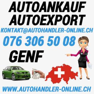 autoankauf autoexport autohandler Genf