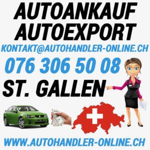 autoankauf autoexport autohandler St Gallen