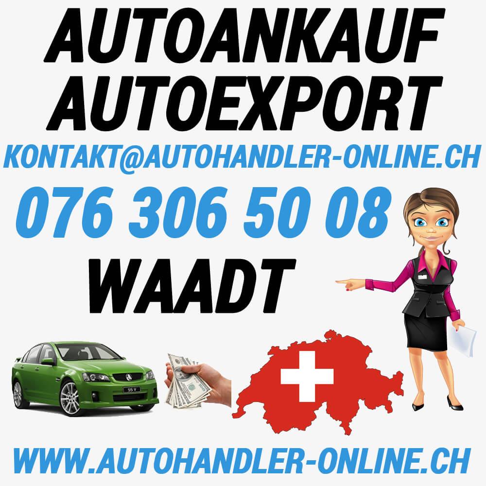 autoankauf autoexport autohandler Waadt